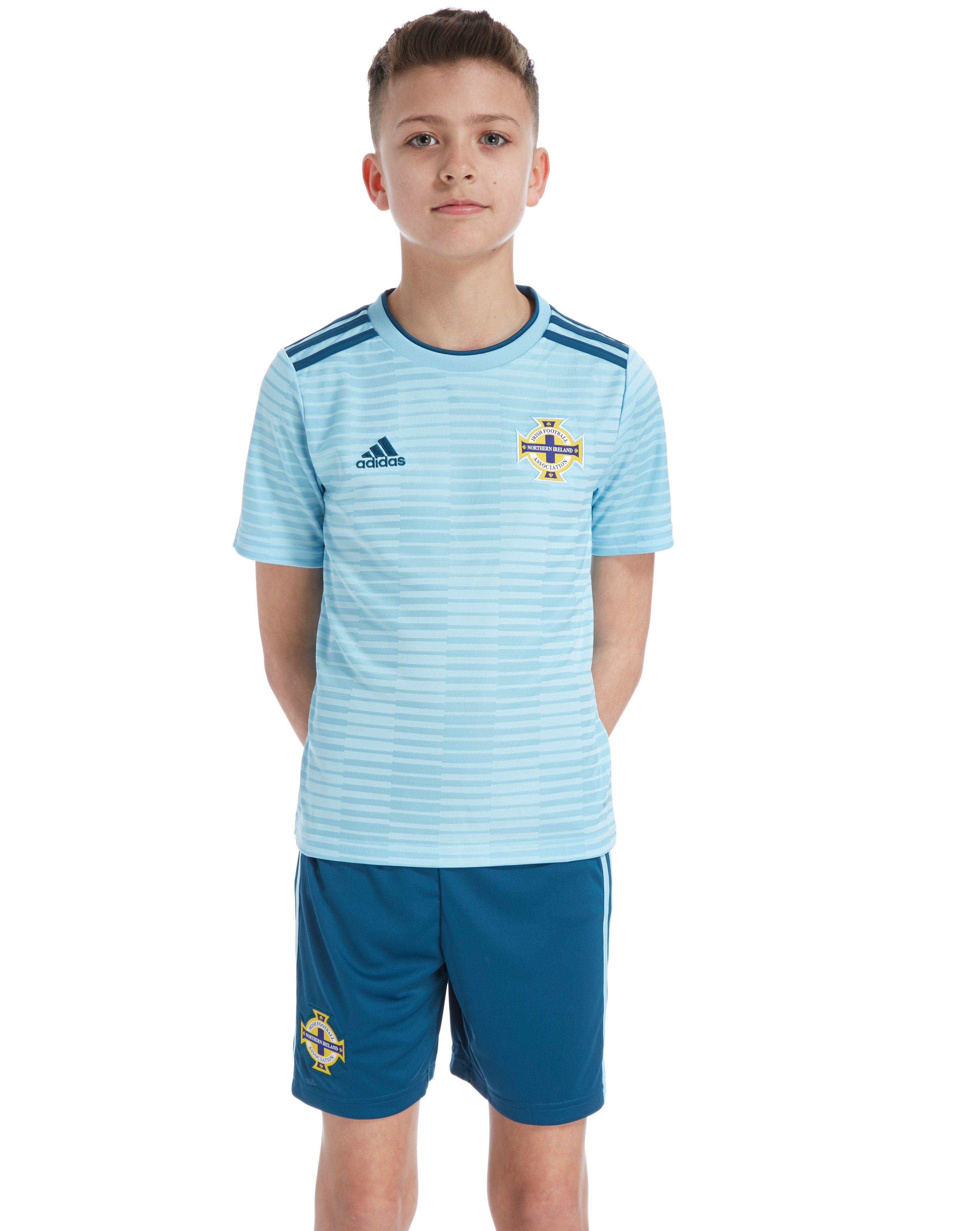 adidas Northern Ireland 2018/19 Away Shirt Junior