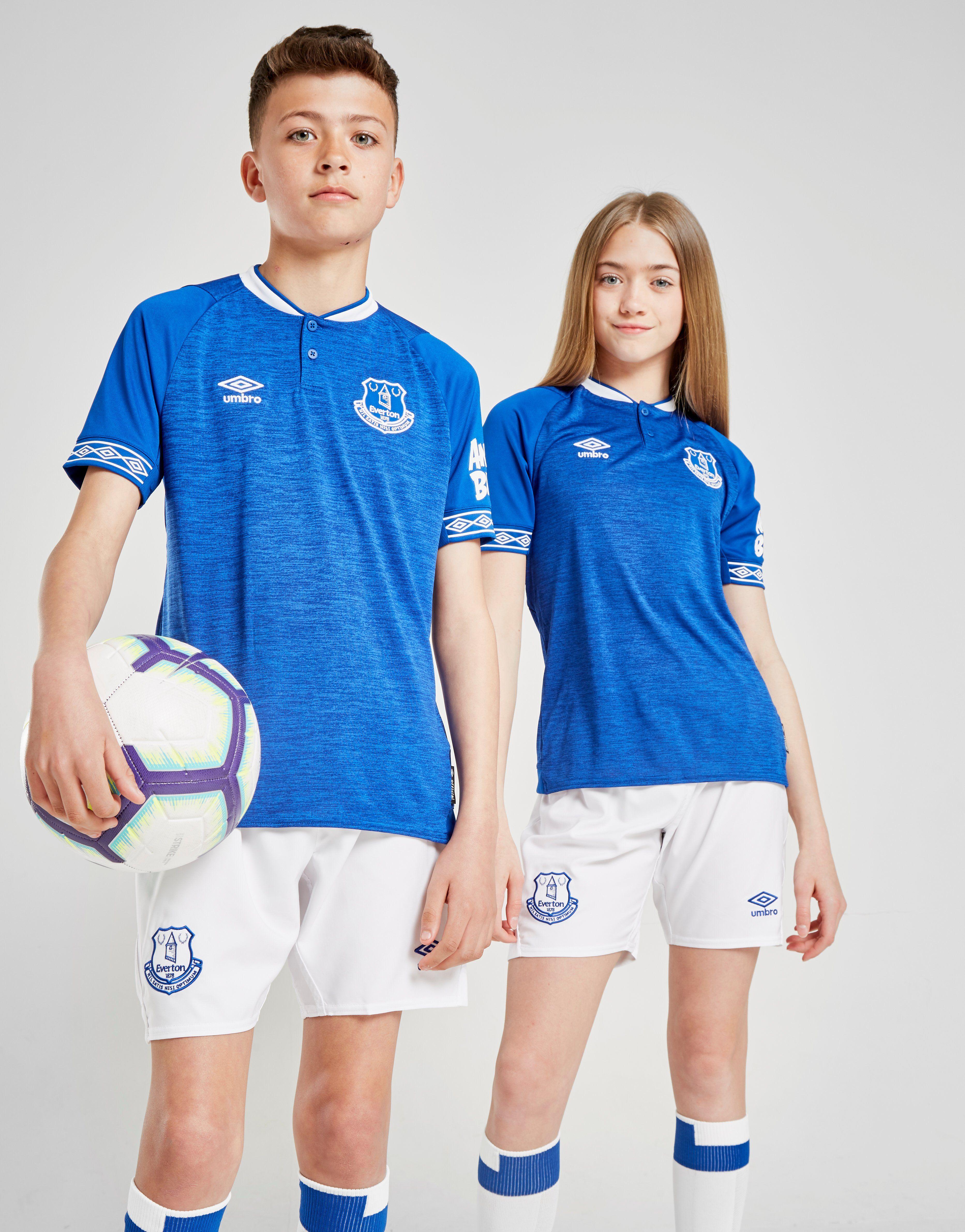 9a5087cc90d Umbro Everton FC 2018/19 Home Shirt Junior | JD Sports
