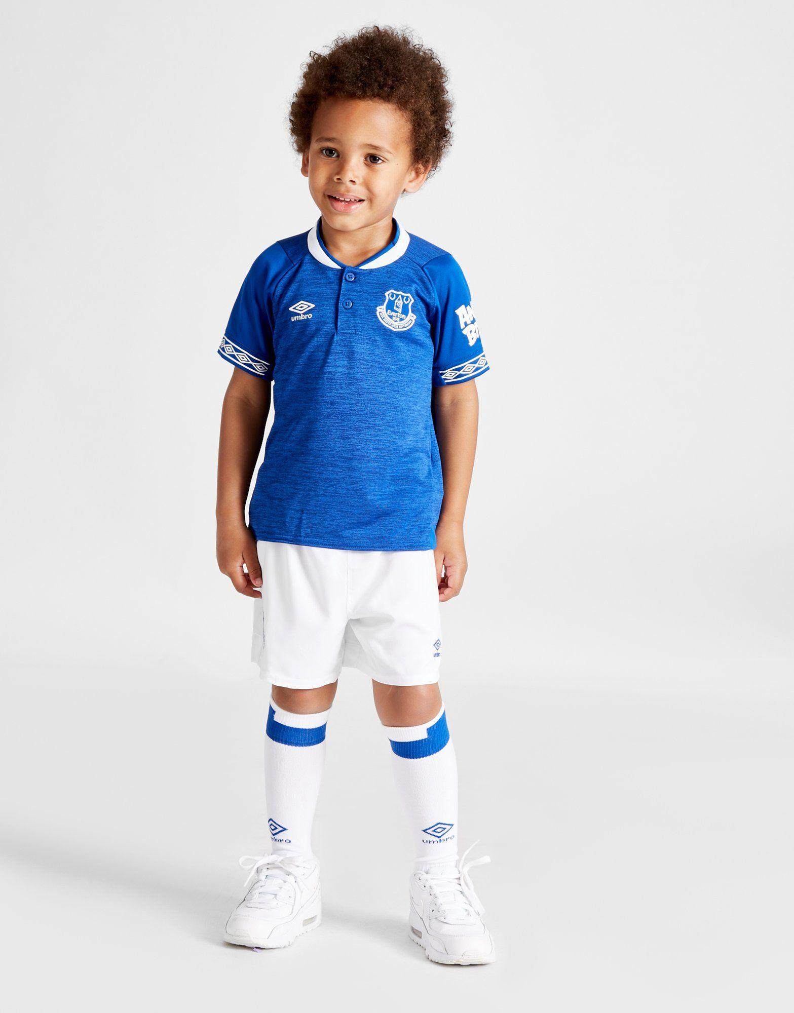 7ba238ab3 Umbro Everton FC 2018 19 Home Kit Children