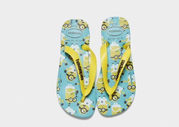 8553fa3267c789 Havaianas Minions Flip Flops Children | JD Sports