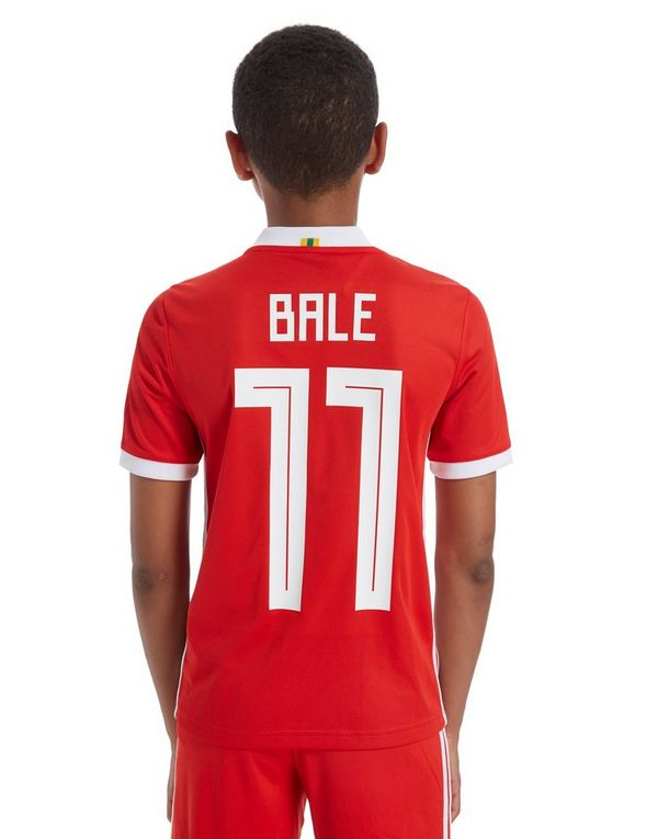 adidas Wales 2018 Home Bale #11 Shirt Junior