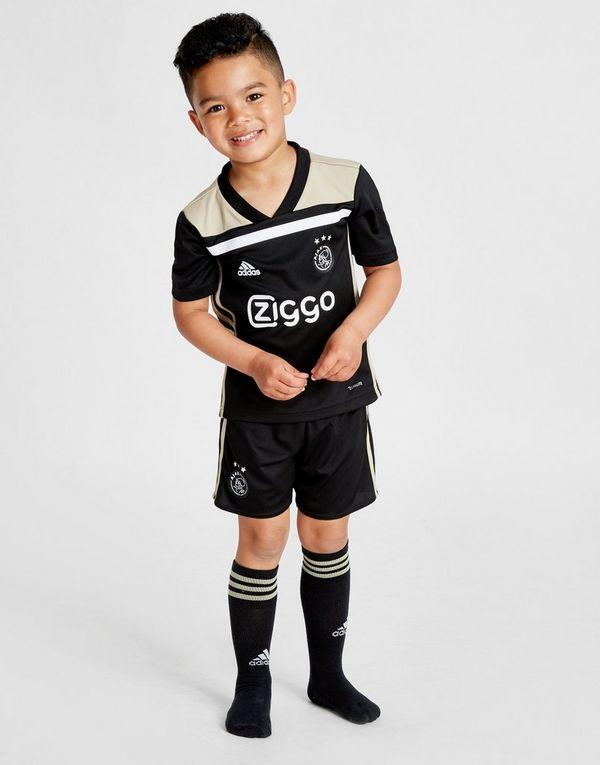 new product dcebb 7ebee adidas Ajax 2018/19 Away Kit Children