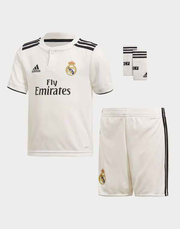 e4614d5512c adidas Real Madrid 2018/19 Home Kit Children | JD Sports