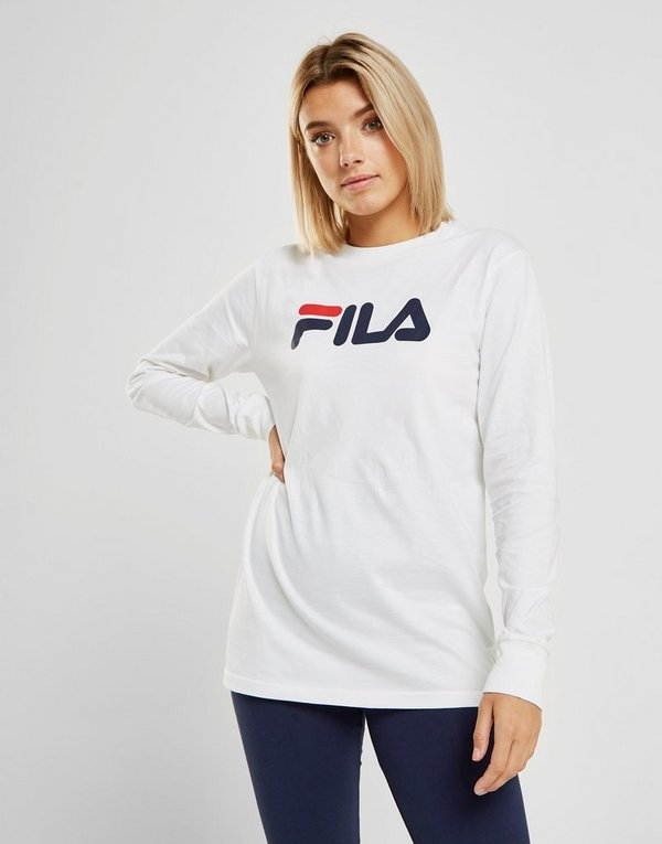 cd7d607ae50 Fila Long Sleeve Boyfriend T-Shirt | JD Sports