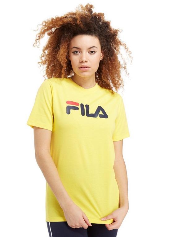 Fila Boyfriend Logo T Shirt Dame