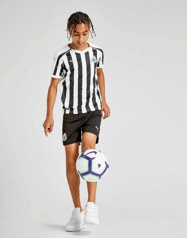 Puma Newcastle United Herren Home Fussball Soccer Football Trikot schwarz//weiß