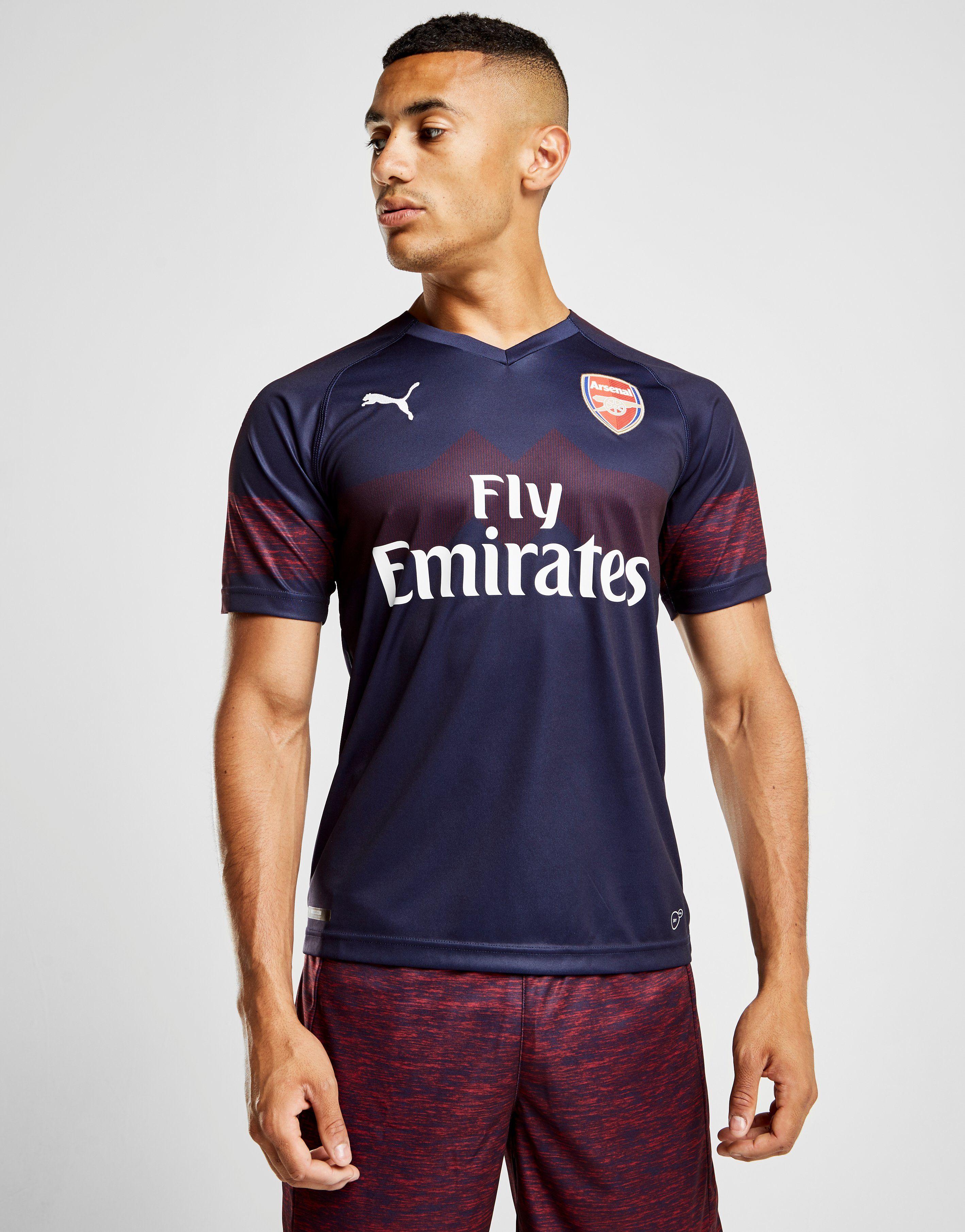 4e32247a5 PUMA Arsenal FC 2018/19 Away Shirt | JD Sports