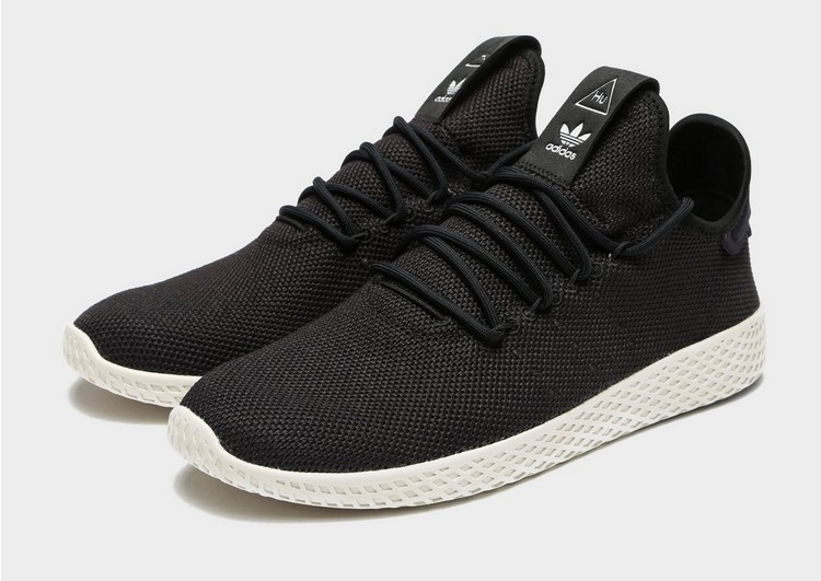 pero no vulgar diseñador de moda correr zapatos Buy Black adidas Originals x Pharrell Williams Tennis Hu | JD Sports