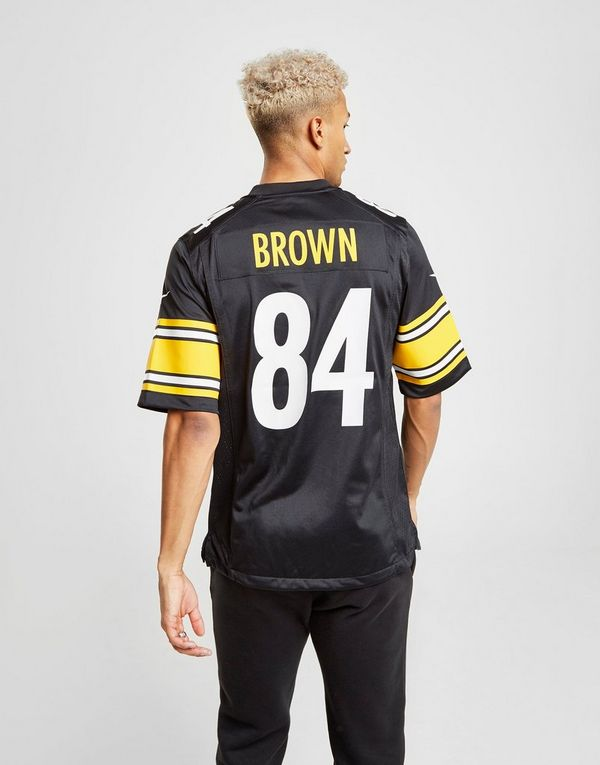 outlet store 12519 6a68d Nike NFL Pittsburgh Steelers (Antonio Brown) Men's American ...