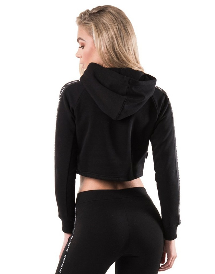 Gym King Sweat coupe courte Tape Crop Femme