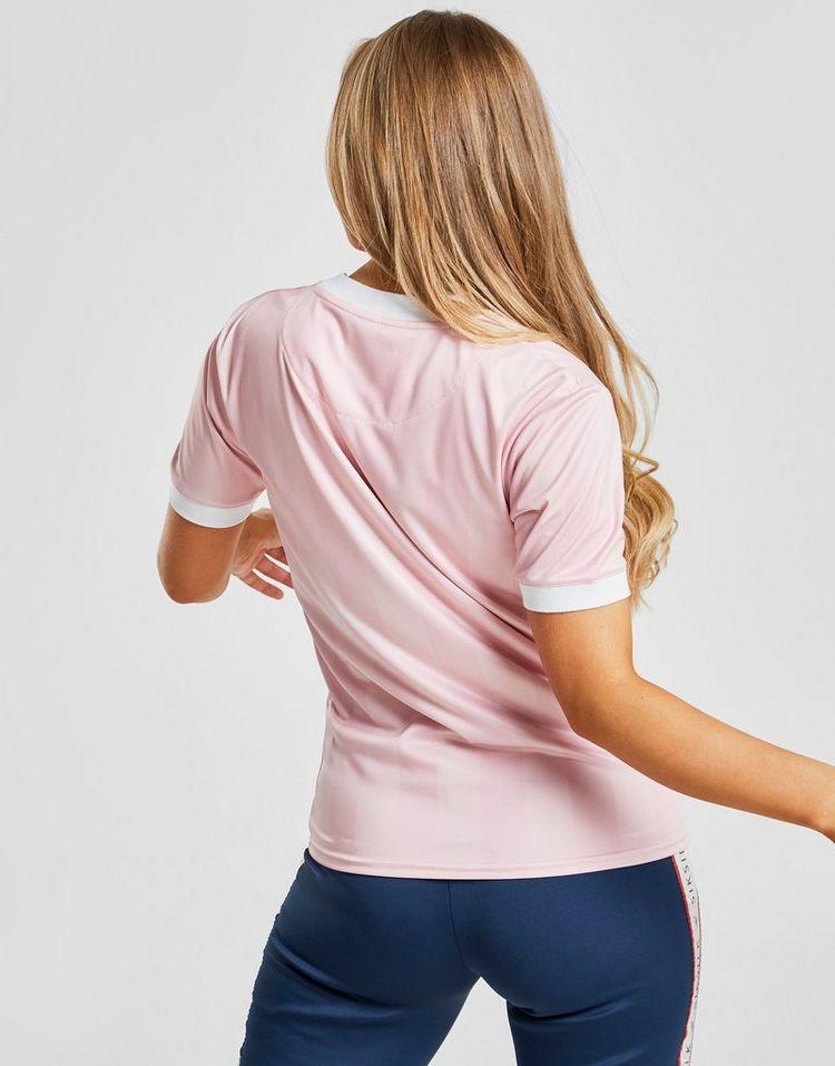 SikSilk camiseta Shadow Stripe