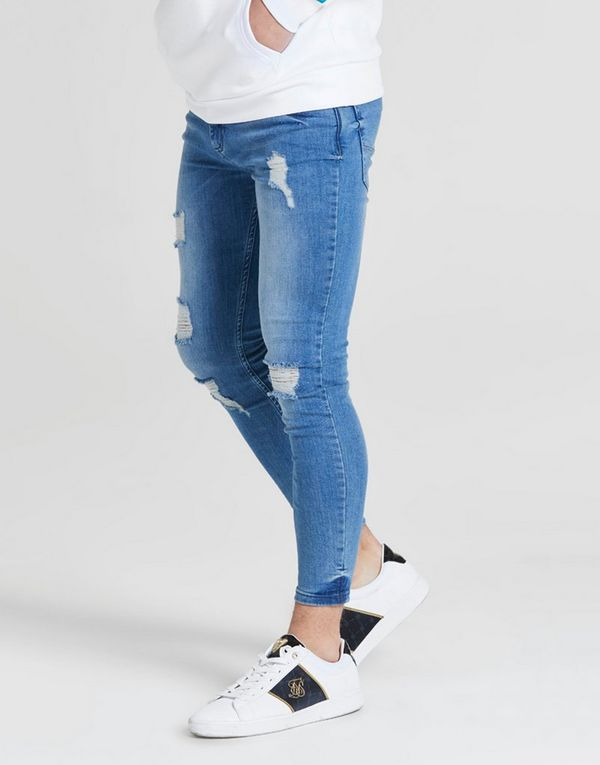 sale retailer 14add 9c483 ILLUSIVE LONDON Skinny Washed Ripped Jeans Junior   JD Sports