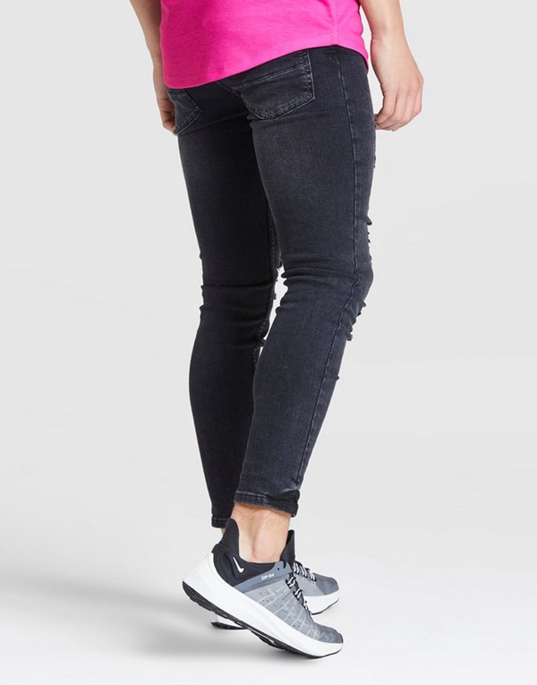 ILLUSIVE LONDON vaqueros Skinny Washed Ripped júnior