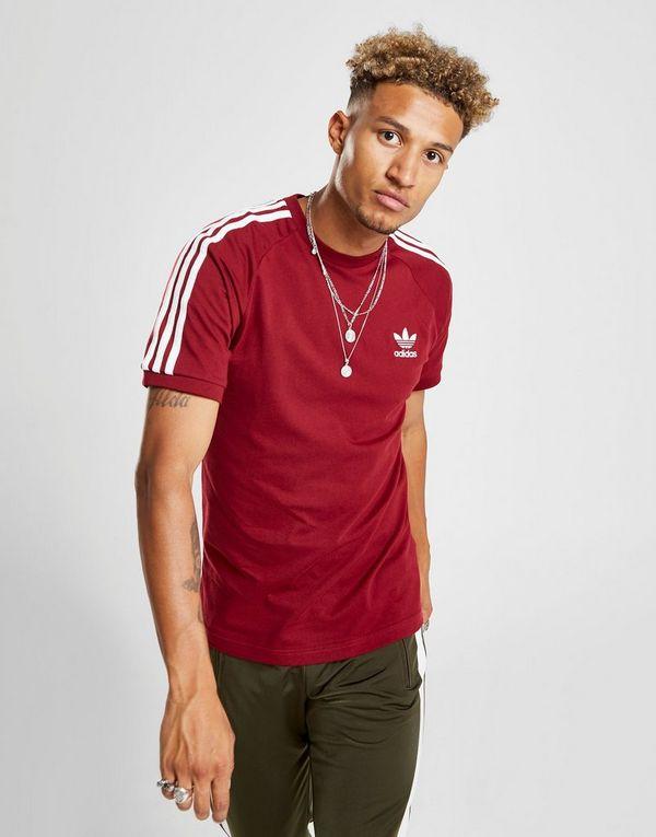 59805aa6 adidas Originals 3-Stripes California Short Sleeve T-Shirt | JD Sports