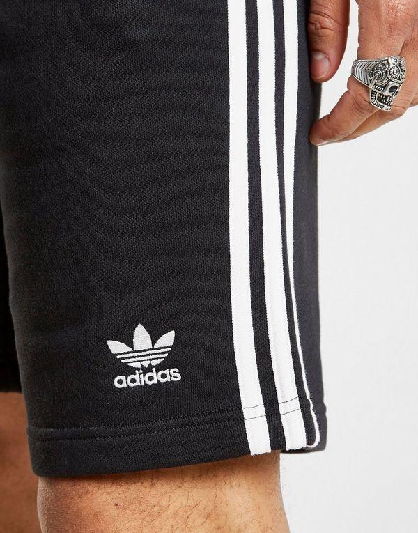 adidas Originals 3 Stripes Fleece Shorts | JD Sports