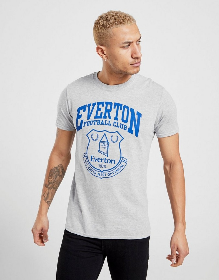 Official Team Everton F.C Crest T-Shirt Herren