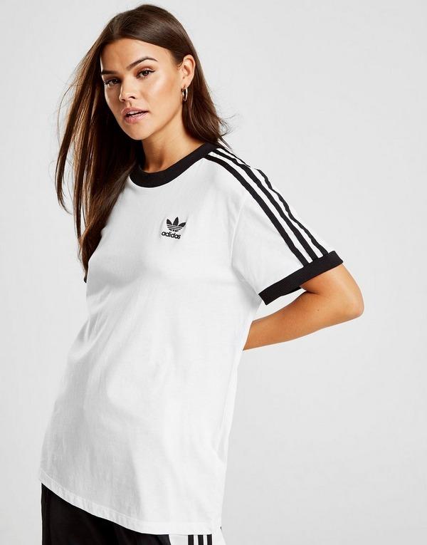 adidas v neck t shirt donna