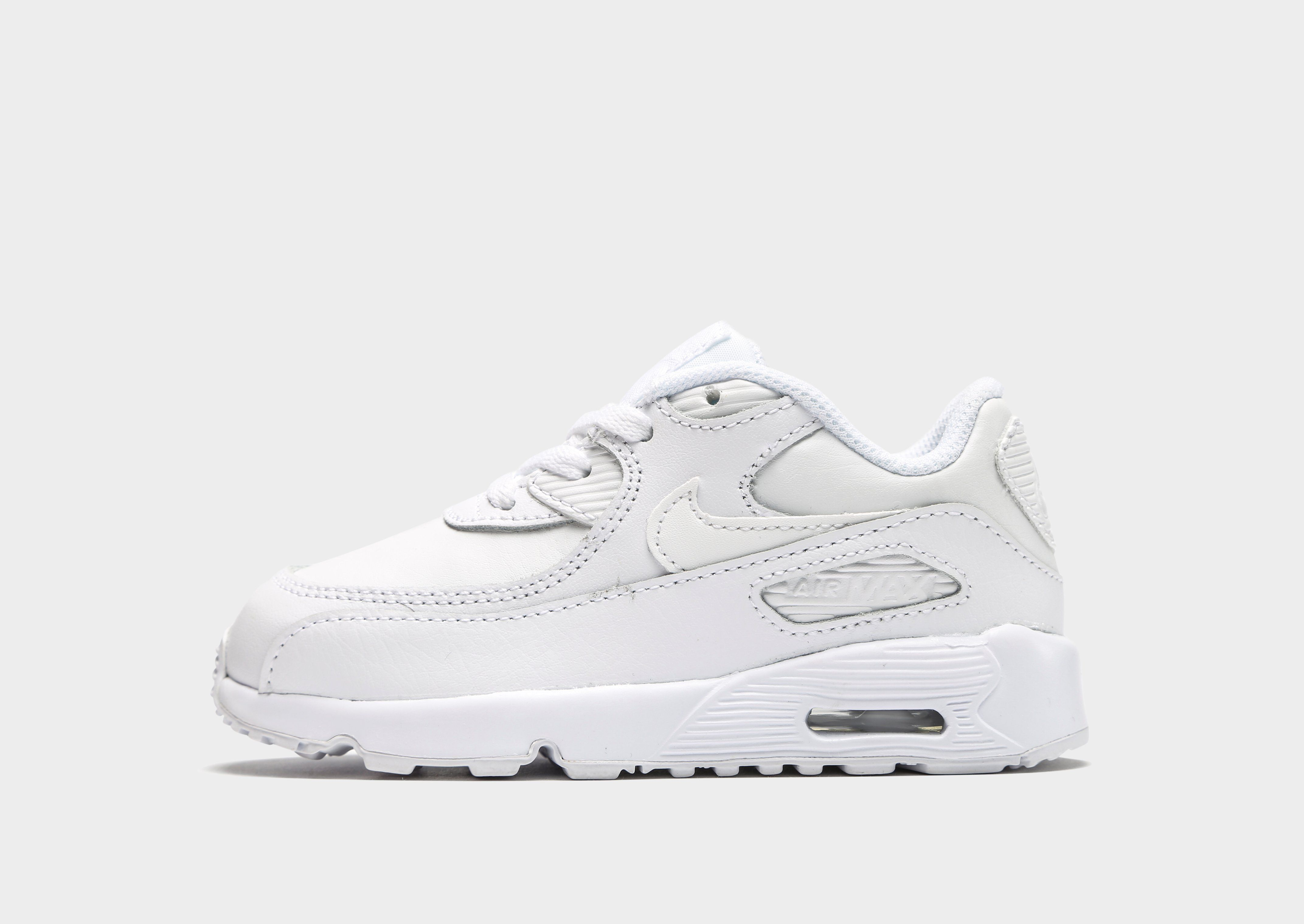 quality design 9632e d2d0a Nike Air Max 90 Leather Baby & Toddler Shoe | JD Sports