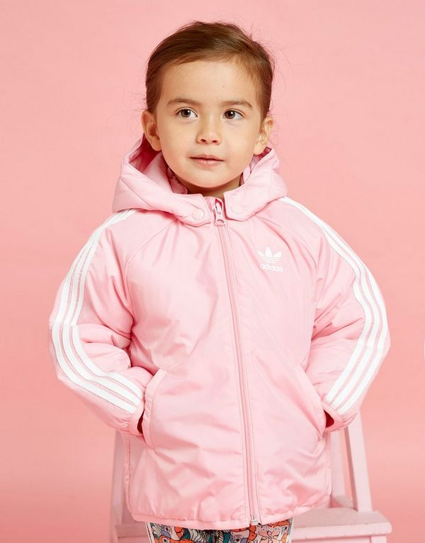 c2062025 adidas Originals Girls' Trefoil Padded Jacket Infant | JD Sports