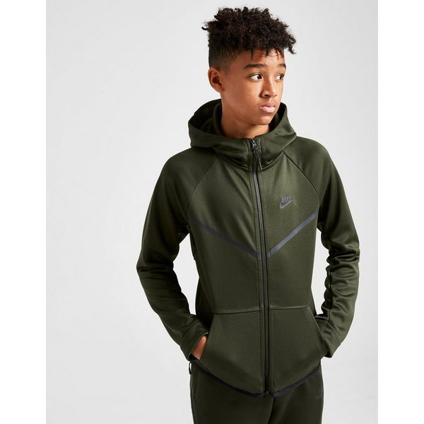 Nike Tech Poly Full Zip Hoodie Junior
