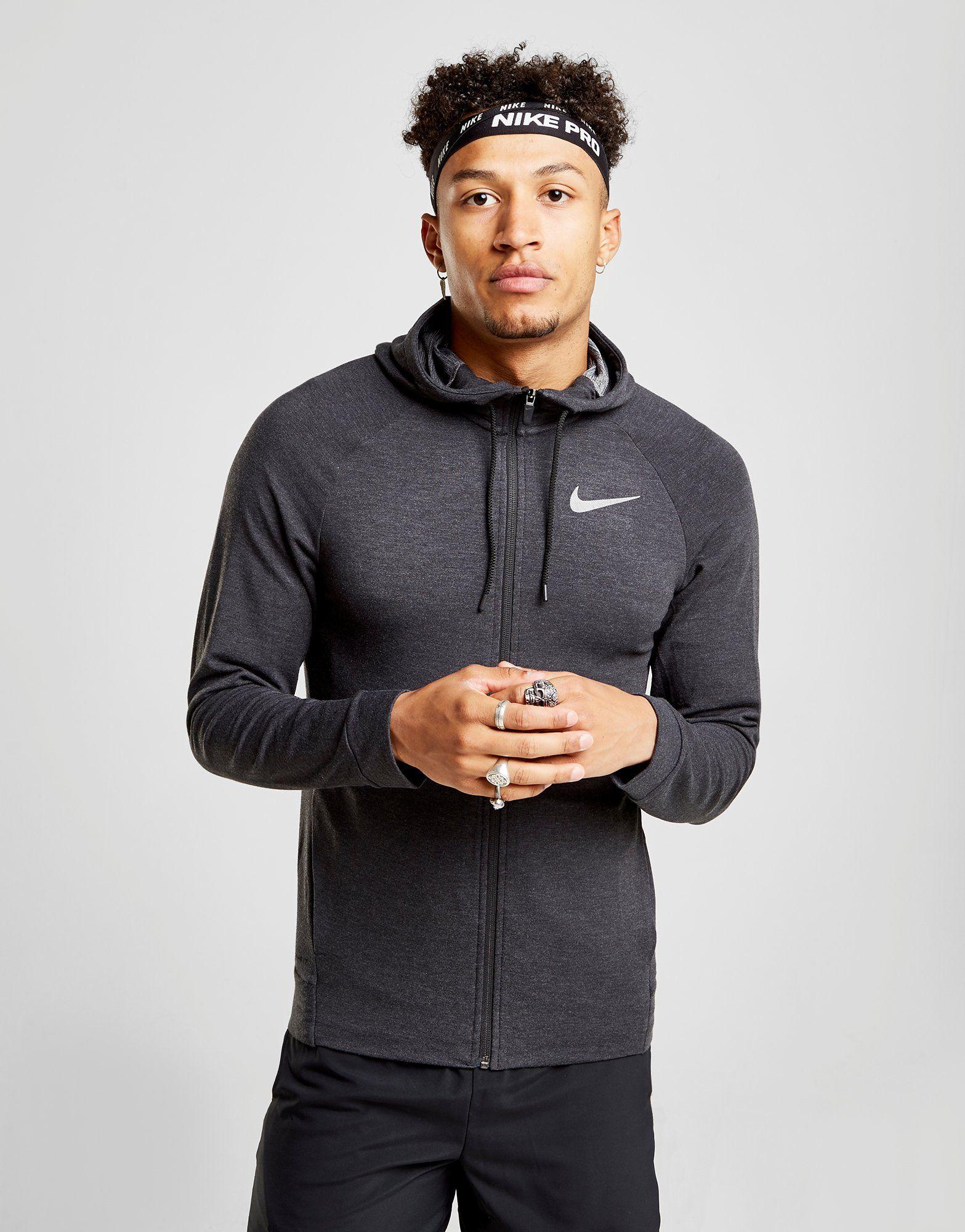 27d8c1c5b NIKE Nike Dri-FIT Men's Full-Zip Training Hoodie | JD Sports