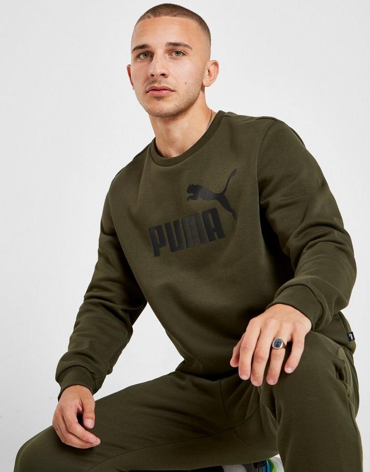 PUMA Core Logo Crew Sweatshirt Heren