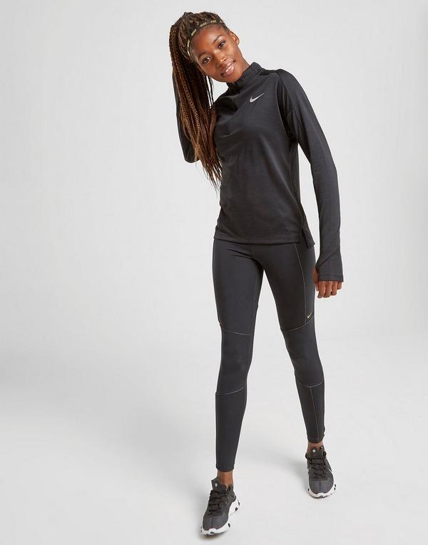 Koop Zwart Nike Running Pacer 1/4 Zip Top Dames