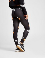 Nike Just Do It All Over Print Leggings Donna