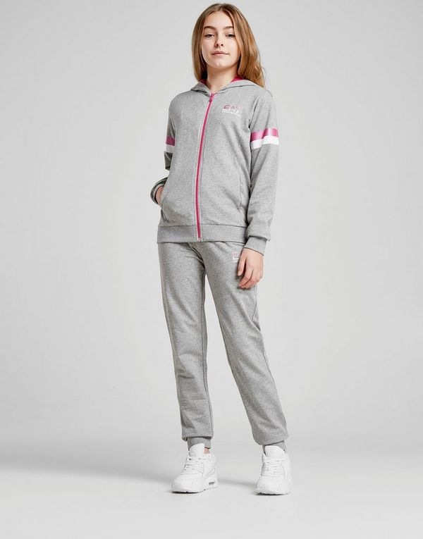 8d4c2507 Emporio Armani EA7 Girls' Training Fleece Tracksuit Junior | JD Sports