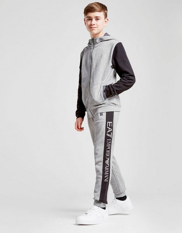 c63c78974 Emporio Armani EA7 Tritonal Fleece Tracksuit Junior | JD Sports