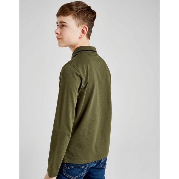 Emporio Armani EA7 Core Logo Long Sleeve Polo Shirt Junior