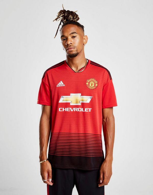 014aec96740 adidas Manchester United FC 2018/19 Home Shirt | JD Sports