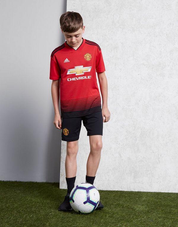 86c516ad73754 adidas Manchester United FC 2018/19 Home Shirt Junior | JD Sports