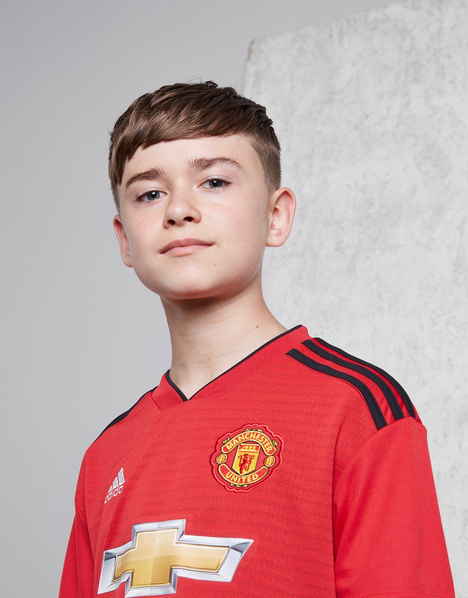 adidas Manchester United FC 2018/19 Home Shirt Junior