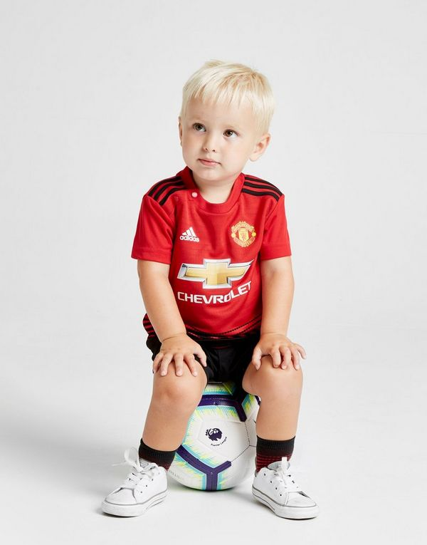 uk availability 334c3 2e43d adidas Manchester United FC 2018/19 Home Kit Infant | JD Sports