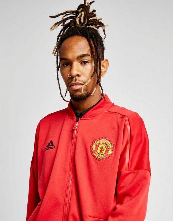 b91de2a71ca adidas Manchester United FC 2018 19 Zone Jacket