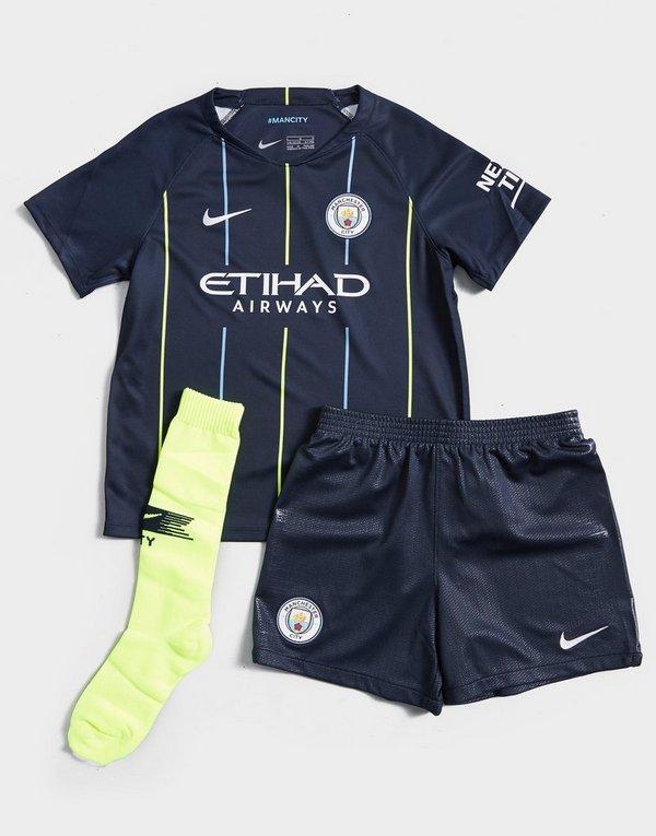9231b2614 Nike Manchester City FC 2018/19 Away Kit Children | JD Sports