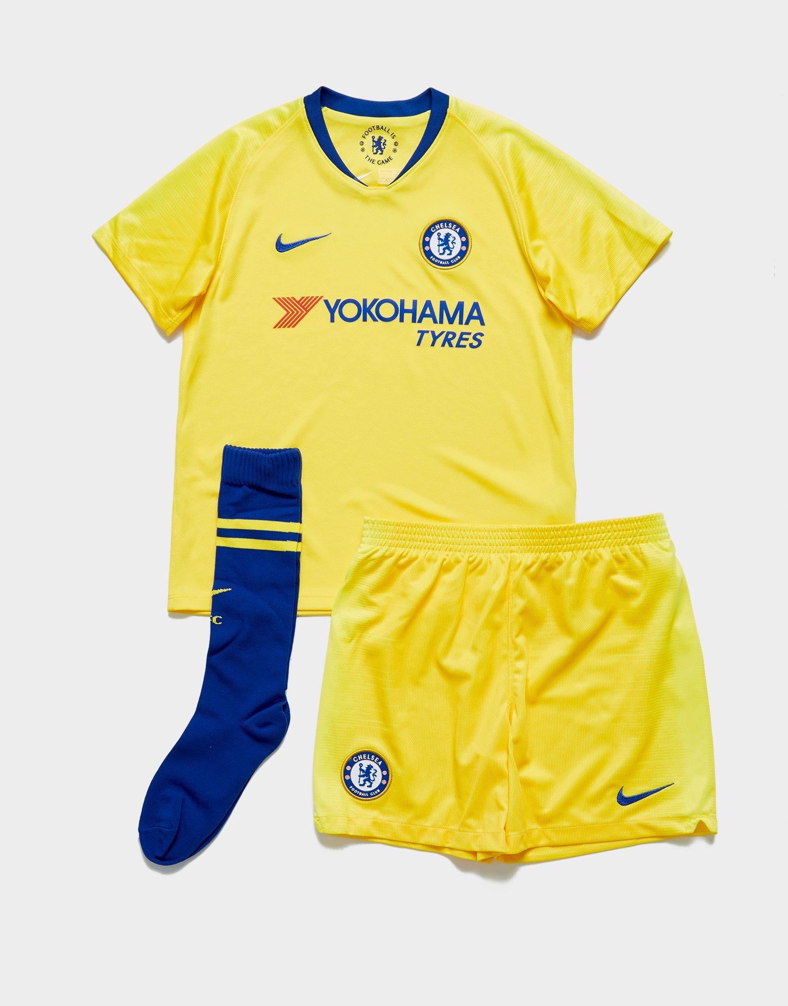 new concept 3f3b5 8e770 Nike Chelsea FC 2018/19 Away Kit Children | JD Sports