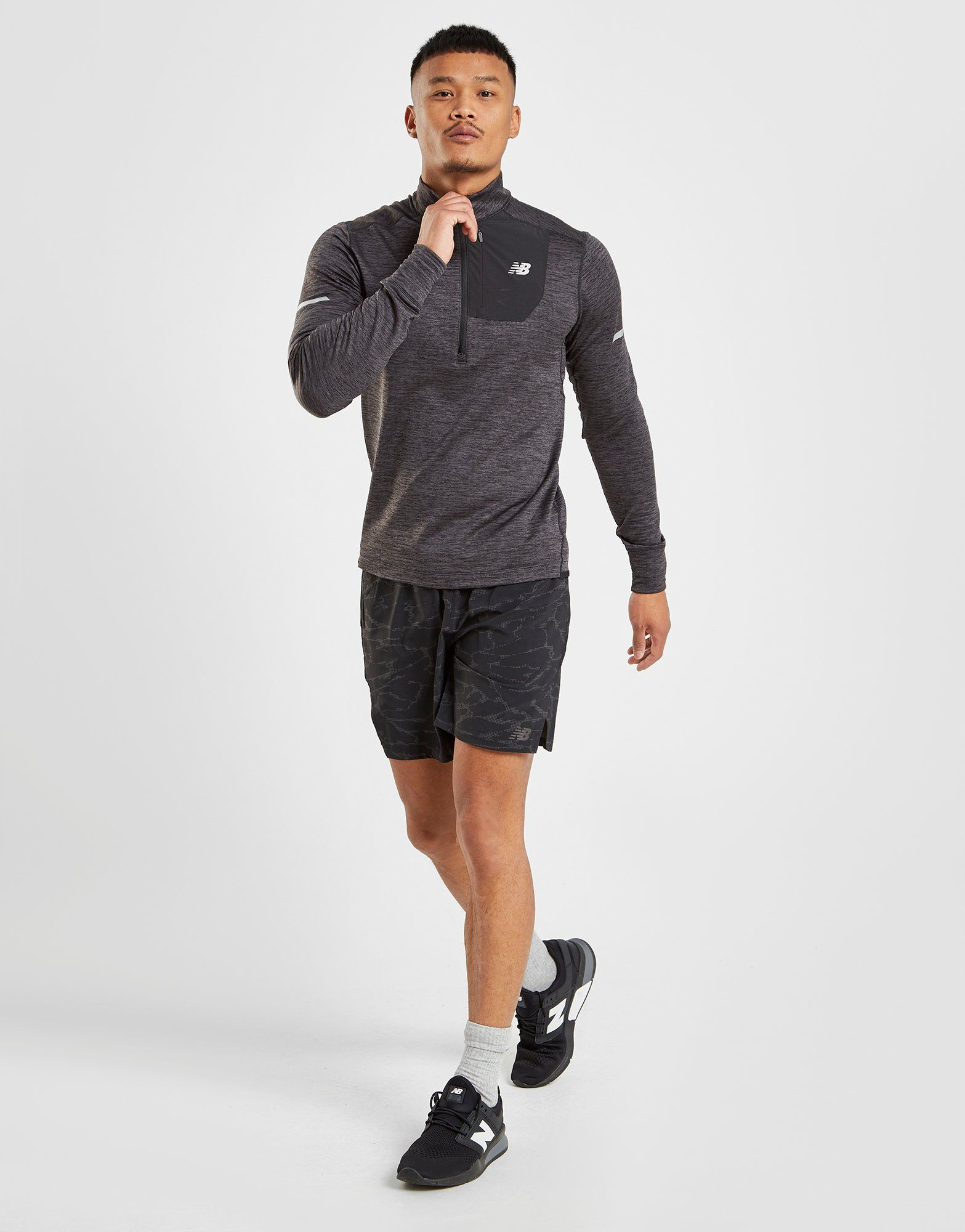 New Balance Heat 1/4 Zip Top