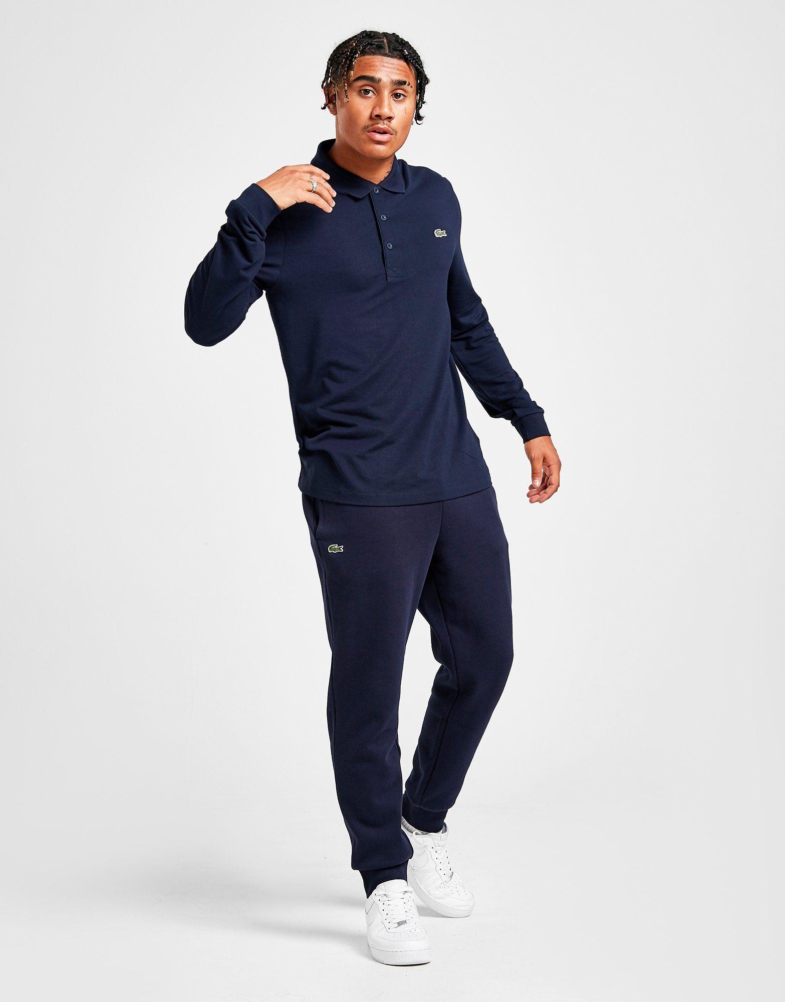 b8b87e3e Lacoste Slim Cuffed Fleece Pants | JD Sports