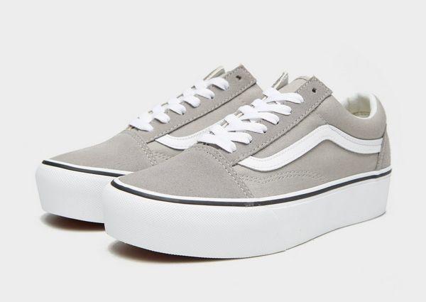 vans plataforma grises