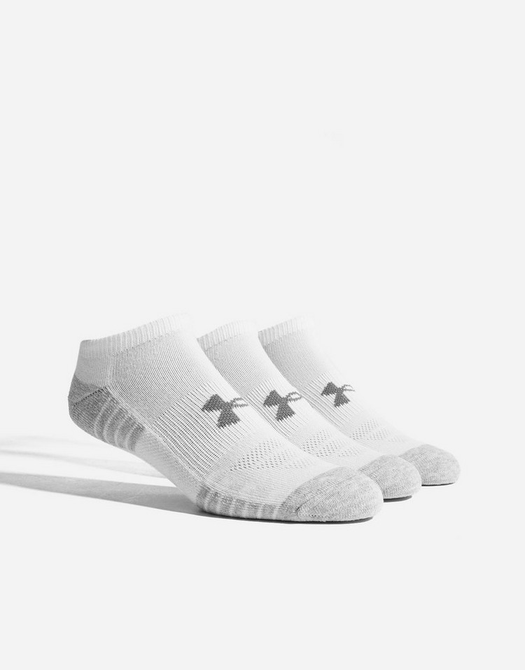 Under Armour 3 Pack HeatGear Tech No Show Socks