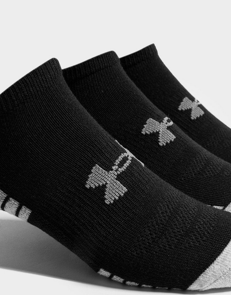 Under Armour Pack de 3 paires de chaussettes HeatGear Tech No Show Homme