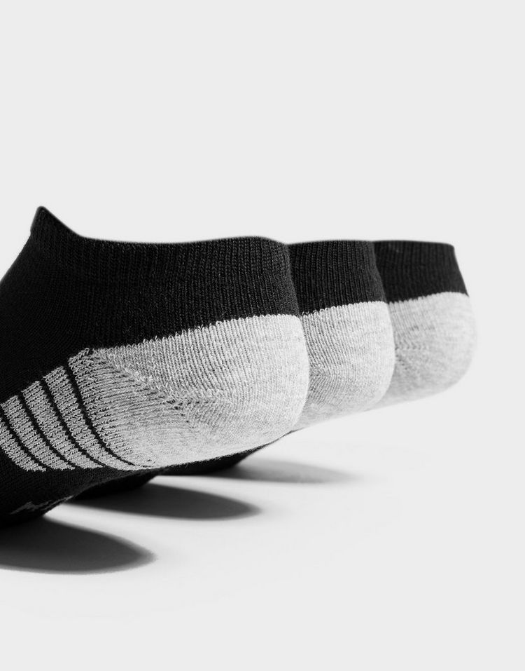 Under Armour calcetines 3 Pack HeatGear Tech No Show