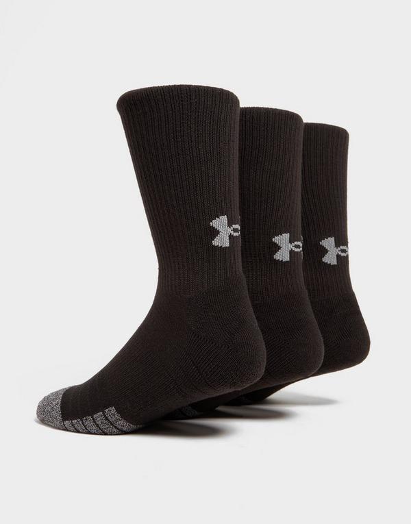 Under Armour 3 Pack HeatGear Tech Crew Socks