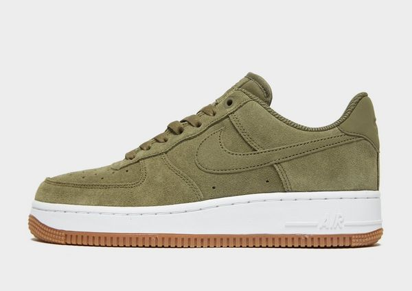 nike air force 1 groen suede dames