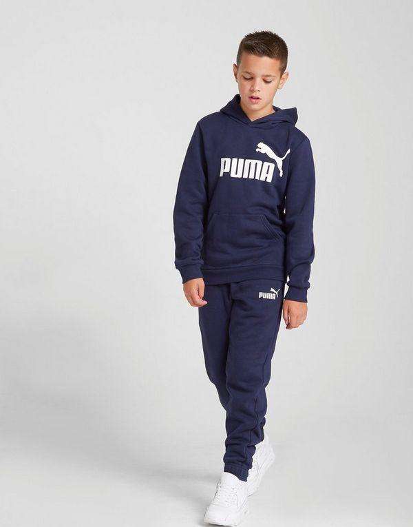 9401257f9c6b16 PUMA Core Logo Felpa con cappuccio Junior   JD Sports