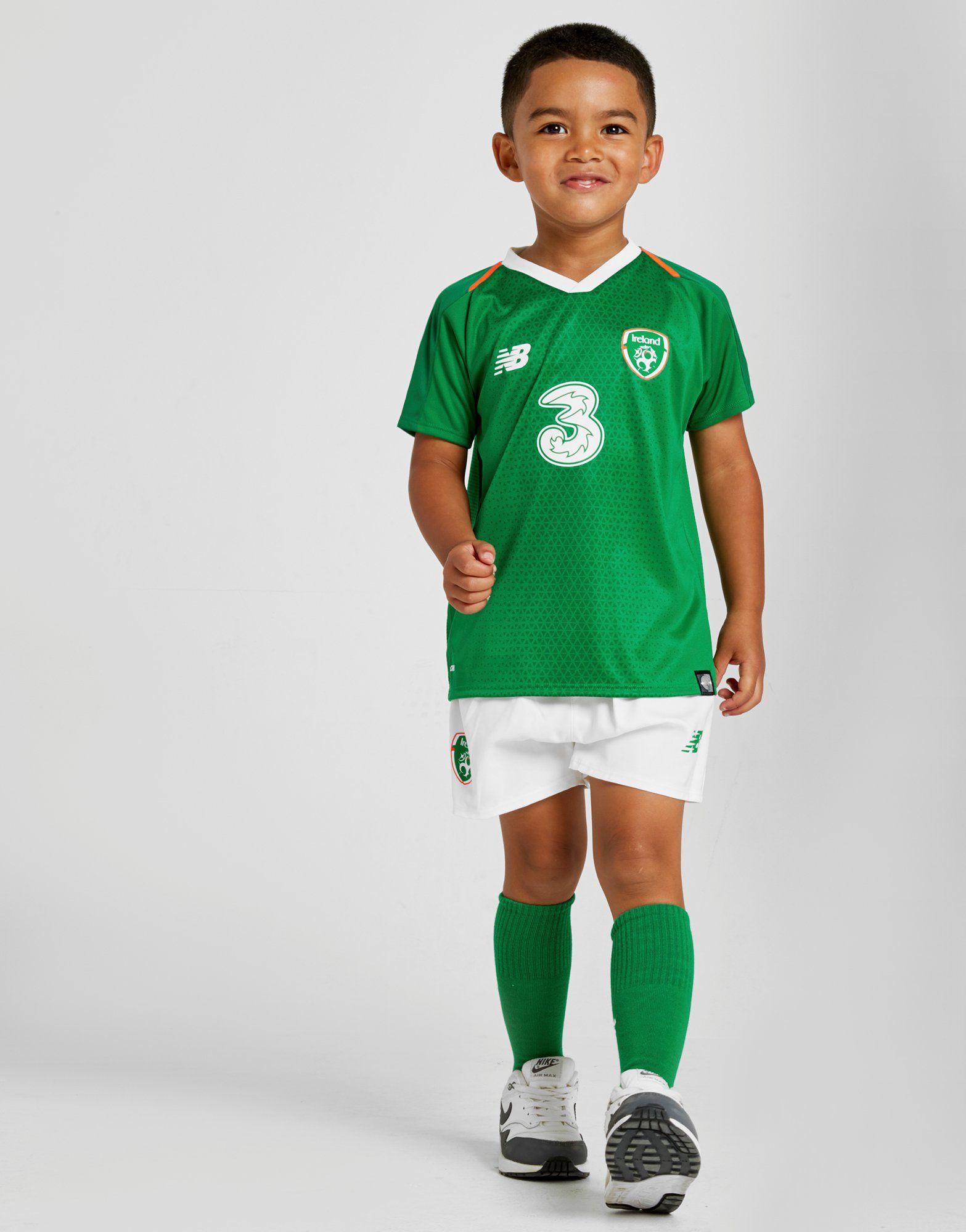 check out 45783 b171f New Balance Republic of Ireland 2018/19 Home Kit Children | JD Sports