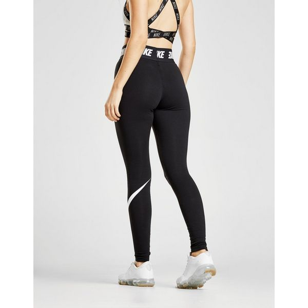 Jd Fitness Leggings: Nike High Waisted Swoosh Leggings