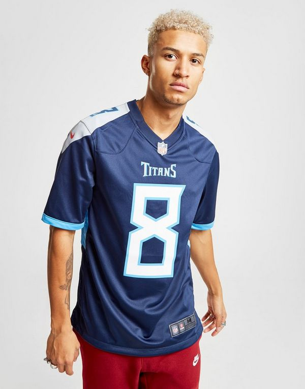 wholesale dealer 5c362 420c2 Nike NFL Tennessee Titans Mariota Home Shirt | JD Sports